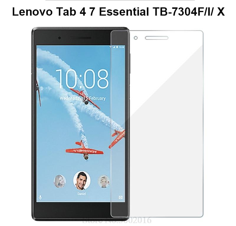 9H Tempered Glass Screen Protector For Lenovo Tab 4 7 Essential TB-7304F TB-7304I TB-7304X Tab4 Tab7 Essential Tablet Glass Film