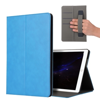 DOLMOBILE Luxury PU Leather Case Cover with Stand for iPad Pro 10.5 Tablet Hand Holder Grip Shell with Card Slots 30pcs