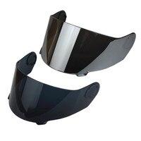 TORC T27 T27B Motorcycle Helmet Visor Black Clear Chrome Glasses Face Shield For VCAN V270 V270B