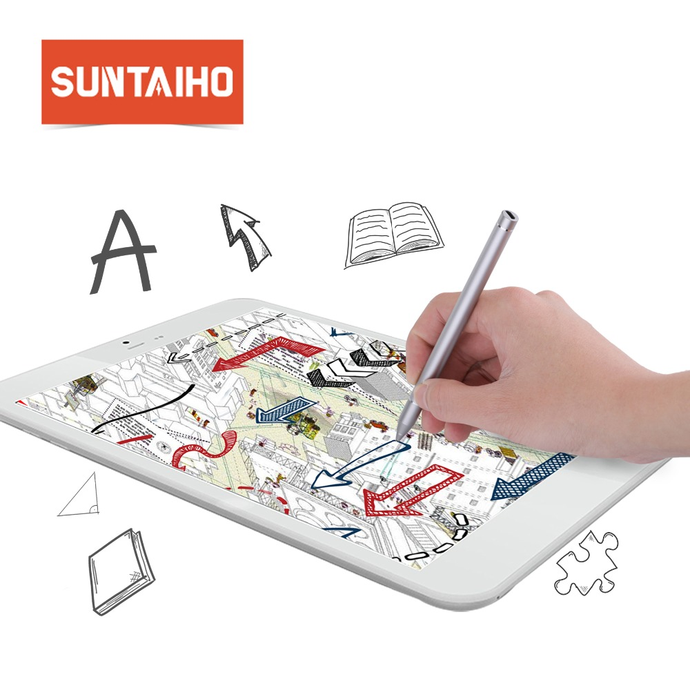 $26.99   Suntaiho for Apple Pencil Active Stylus Capacitive Touch Screen for tablet Samsung iPad iPhone for iPad 2018 iPad Pro 10.5 12.9