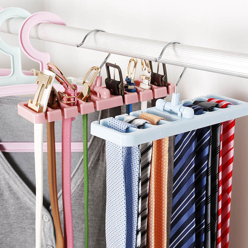 Hook Holder Rack Storage Hanger Tie Belt Hanger Space Saver Rotating Scarf Holder Hook Closet Organization Tank Top Bra Belts