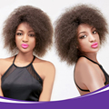 100g Full Head Afro Wig For Black Women Short Kinky Curly Hair Wig Synthetic Hair Female Full Head Wigs