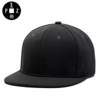 PLZ Classic Design Snapback Cap Men Fashion Gray Black Baseball Cap Rock AND Roll Heavy Metal