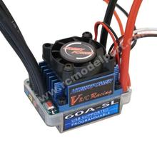 Hobbypower Racing 60A Brushless BL ESC Speed Controller BEC 6V/1.5A for RC 1/10 1/12 Car Truck