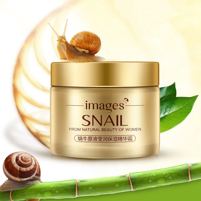 24K Gold Snail Facial Creams 50G Whitening Anti-Wrinkle Cream Anti-Aging Face Cream Hydrating And Moisturizing new oil wax leather men s wallet long retro business cowhide wallet zipper hand bag 2016 high quality purse clutch bag