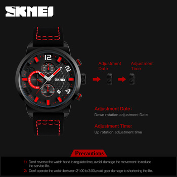 Casual Sport Watches Men Waterproof Quartz Watch 4