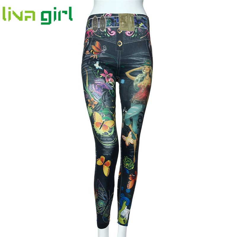 Newly Stylish Fashion Women Jeans Colorful Print Skinny Jeggings Stretchy  Slim Leggings Women Soft Pants Feminino - Online Get Cheap Color Striped Jeggings -Aliexpress.com Alibaba