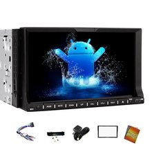 Android 4.4 7″ Car GPS Stereo for Navigation 2 Din DVD Player Bluetooth For Hands free phone calling In Dash Headunit