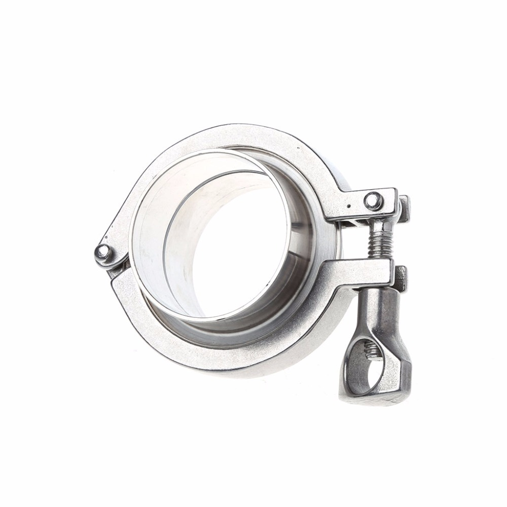 51mm 2 OD SS304 Sanitary Pipe Weld Ferrule + Tri Clamp + PTFE Gasket Set 273mm od sanitary weld on 286mm ferrule tri clamp stainless steel welding pipe fitting ss304 sw 273 page 2