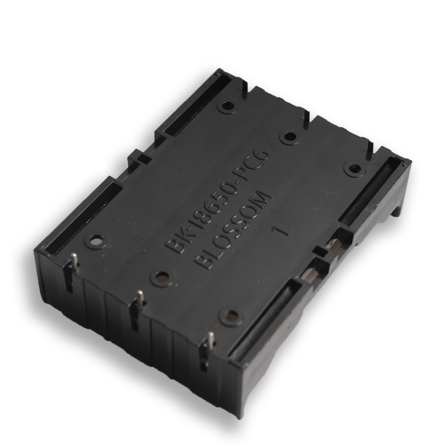 18650 Holder 100PCS 3x18650 In Parallel Plastic 18650 Battery Holder Case Storage Box For 3*3.7V 18650 Lithium Battery With Pin