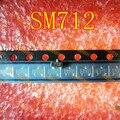 O envio gratuito de tela de 10 pçs/lote PSM712 SM712 712 tubo de proteção contra raios SOT23 SMD novo e original