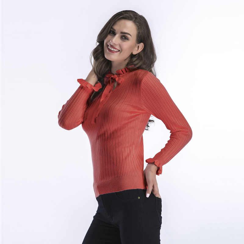 2018 Blast свитер с длинными рукавами женский осенне-зимний низ