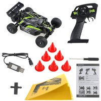 LT832B/LT832T/LT832S 1/32 Full scale 2.4GHz Racing Crawler Shock Absorber 12km/h High Speed Remote Control Toy Car for Children
