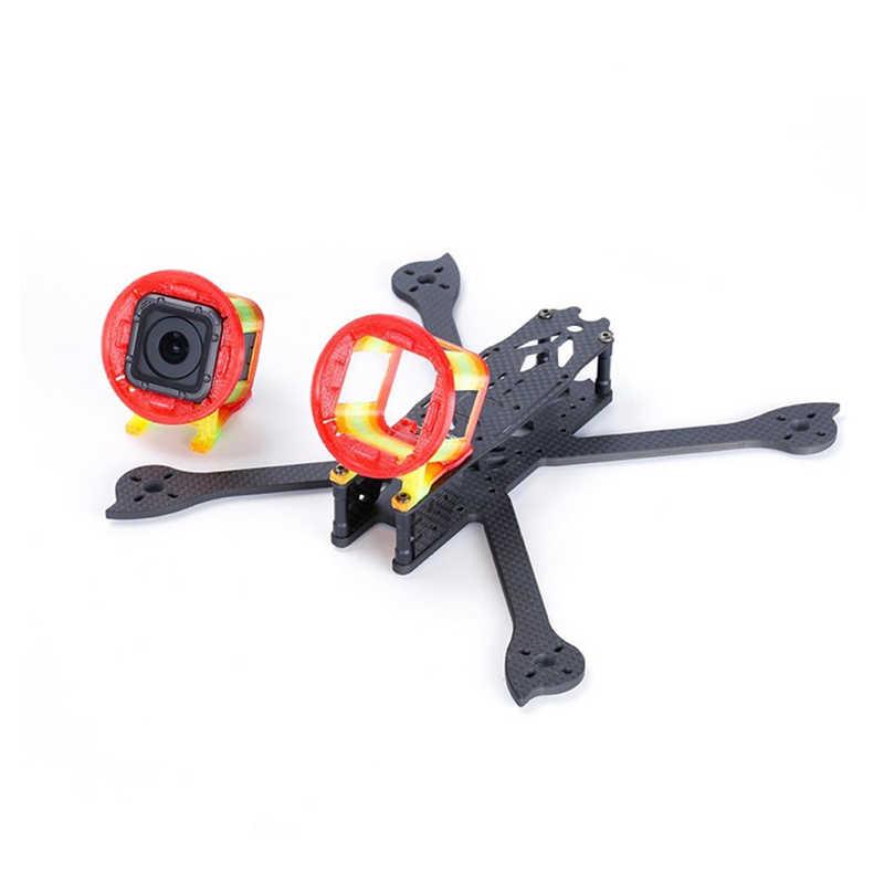 IFlight 3D a imprimé le support de caméra de TPU 30 degrés pour la Session de GoPro avec le filtre d'objectif de 52mm pour la pièce de rechange de modèles de Drone de course de RC FPV