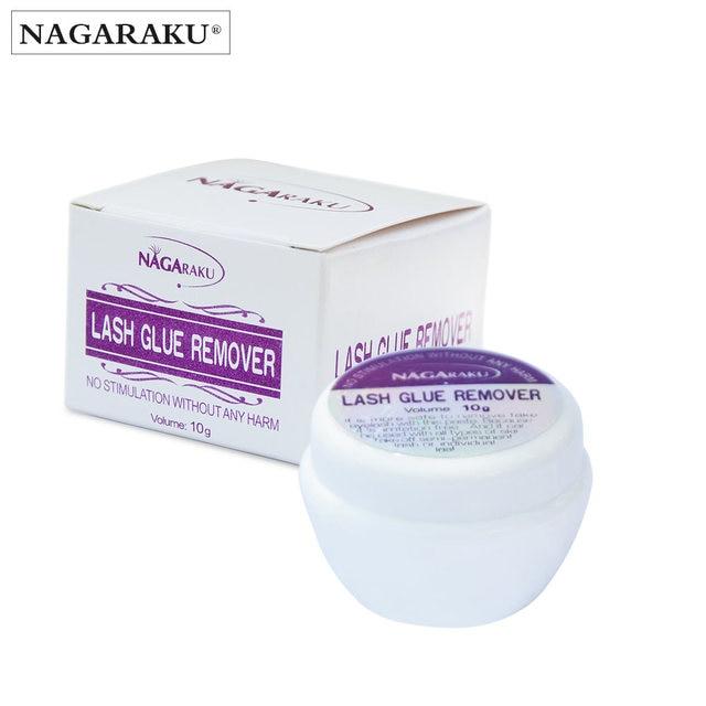 NAGARAKU 10 グラム高速かつ安全なまつげグルーリムーバー、まつげエクステンショングルーリムーバーグルーリムーバー非刺激性eyelash beautyeyelash directeyelashes prices