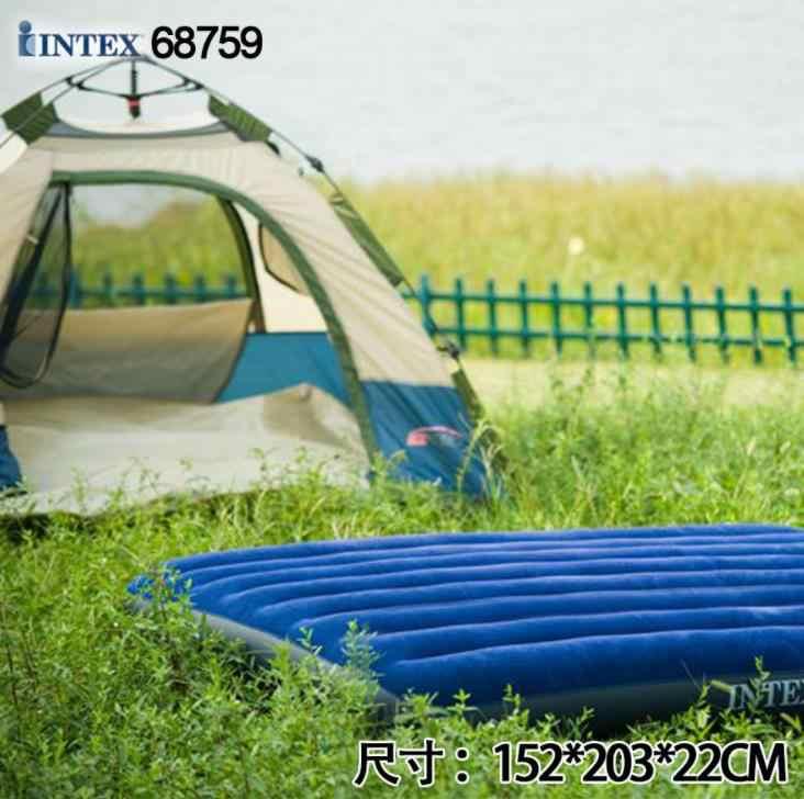 2-3 คน Outdoor แคมปิ้งที่นอนรถ SUV ด้านหลัง Make Love เต็นท์ Pad Inflatable Cushion Home Beach Park picnic ที่นอน