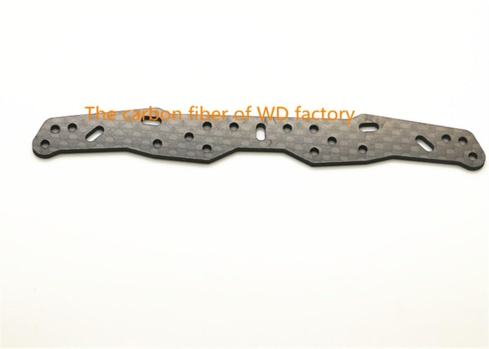 RC MINI 4WD 1 5mm Carbon Fiber Wide Front Plate Self made Parts Tamiya MINI 4WD