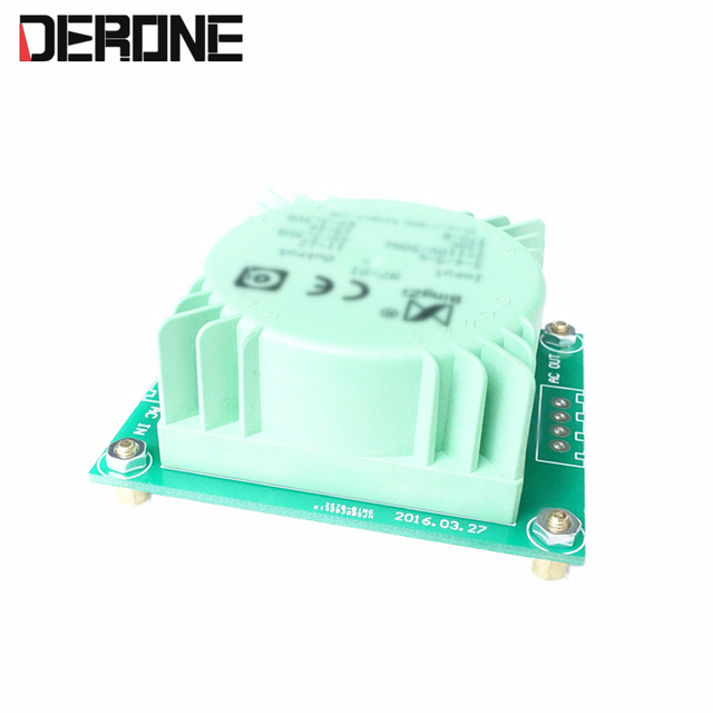 1 piece Dual 15V 15W    Ring Transformer For Preamplifier dac decoder with mounting plate PCB free shipping