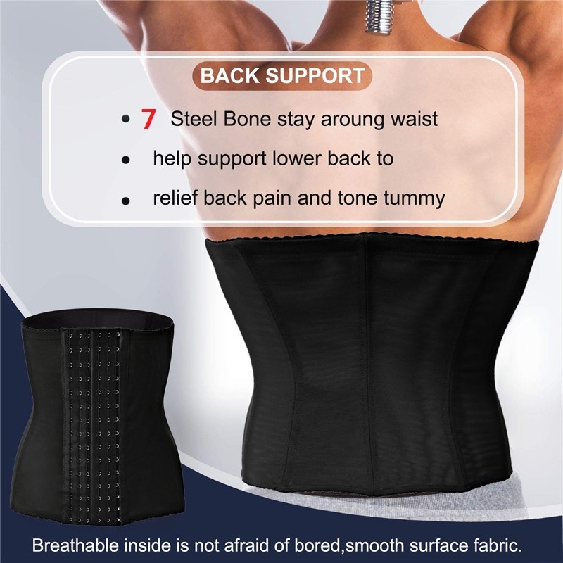 HTB1Hs1gXVP7gK0jSZFjq6A5aXXak - SEXYWG Men Back Support Waist Trainer Slimming Body Shaper Tummy Modeling Strap Tactical Belt Sport Top Brace Shapewear Cinchers