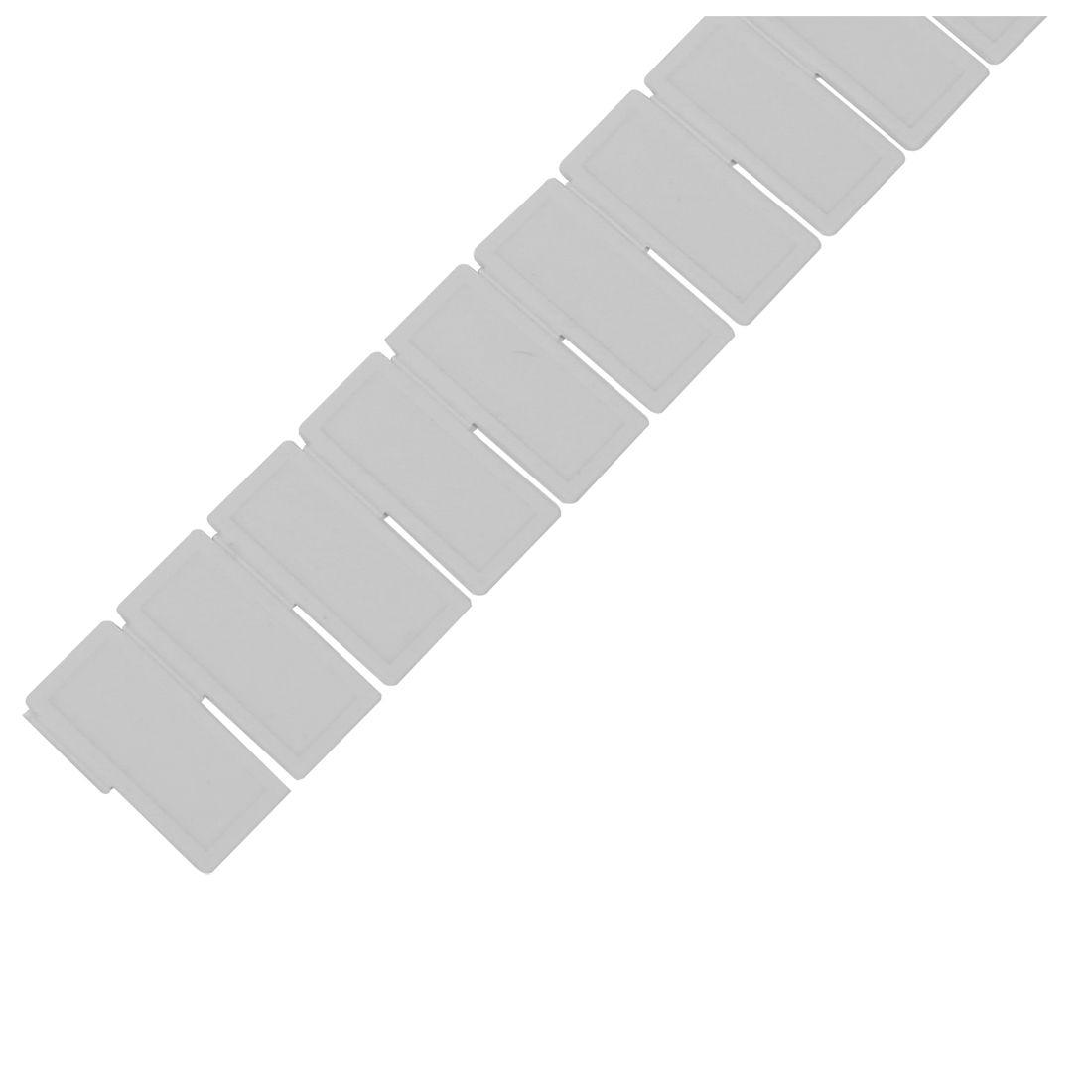 6 шт. Пластик ящика Шкаф сетки делитель аккуратные Органайзер контейнер для домашнего хранения белый