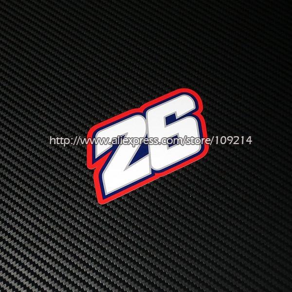 Hot sale Dani Pedrosa 26 helmet motorcycle Sticker Decals Waterproof 17
