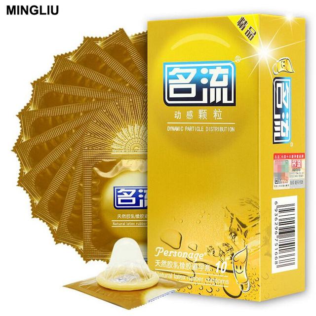 MINGLIU 10pcs/lot High quality Condoms for men Natural latex condom Preservativo Adult sex products Safer sex Contraception