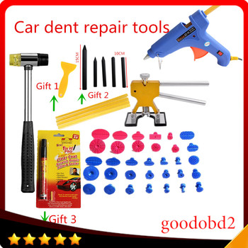 Car PDR Tools Paintless Dent Repair Tools Dent Removal Dent Puller Tabs Dent Lifter Hand Tool Set PDR Toolkit Ferramentas for VW цена 2017