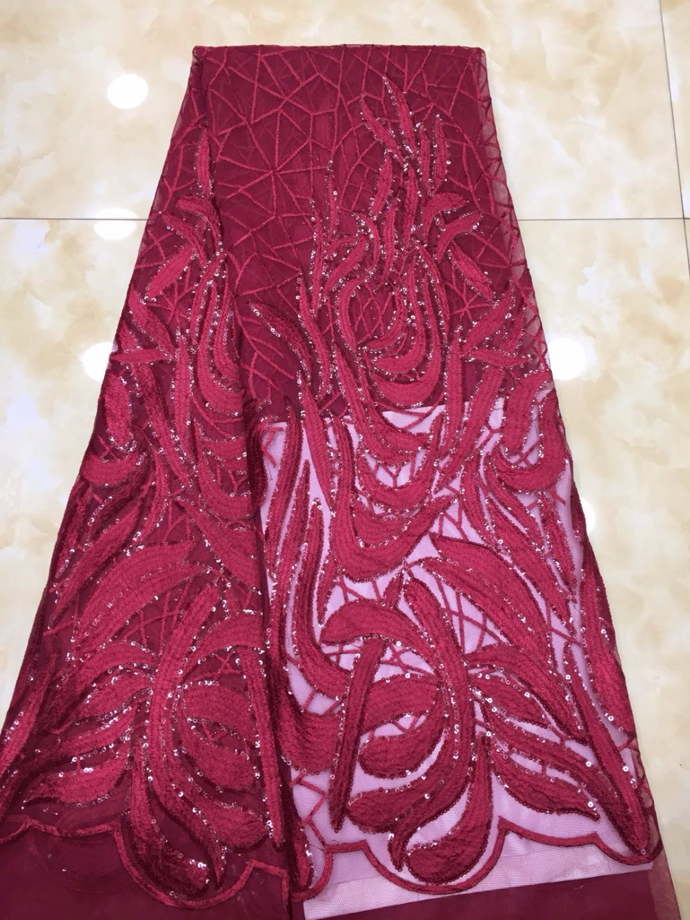 2018 Excellent French Nigerian Laces Fabrics High Quality Tulle African Laces Fabric Wedding African French Tulle Lace 2018 Excellent French Nigerian Laces Fabrics High Quality Tulle African Laces Fabric Wedding African French Tulle Lace