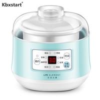 Kbxstart 120W Multifunction Slow Cooker Household Steam Stew Ceramic Liner Soup Porridge Baby Supplement Pot Cooking machine