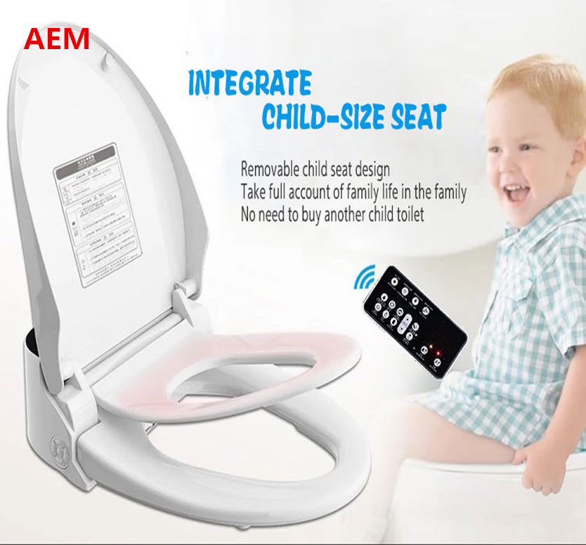 Swell 2019 Smart Heated Toilet Seat Wc Sitz Intelligent Water Closet Automatic Wash Dry Ass Toilet Lid Cover Elongated Children Training Sit Bidet 220V From Evergreenethics Interior Chair Design Evergreenethicsorg