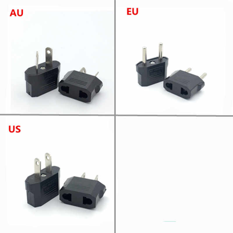 Adaptador de enchufe de EE. UU. AU EU China Japón americano EE. UU. A EU europeo adaptador de corriente de viaje convertidor de enchufe eléctrico australiano hembra
