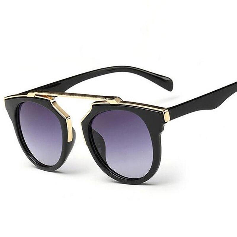 2017 Nuevo Gafas de sol mujeres color deslumbrante Sol Gafas gran marca  unisex Gafas de sol D estilo diseño 617196e13117