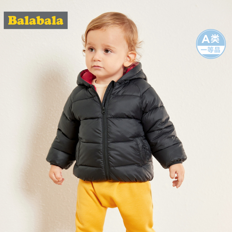 Balabala Infant Baby Quilted Lightweight Jacket with Pocket Newborn Baby Girl Boy Hooded Puffer Jacket with Zip Chinlon Lined bts taehyung warriors