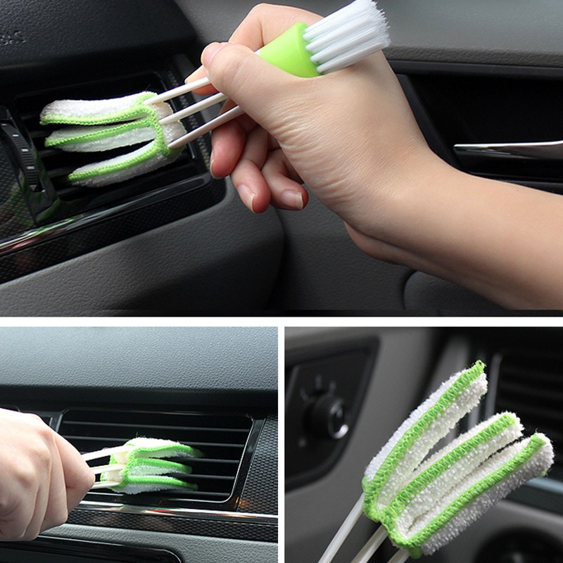 1 PCS Multi-functional Microfiber Car Duster Cleaning Dirt Dust Clean Care Brushes Dusting Tool For Car Detailing