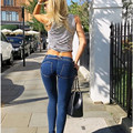 Multicolor sexy Slim thin hip pants pants feet code size women's leggings Jeans Pants Bodybuilding HY003
