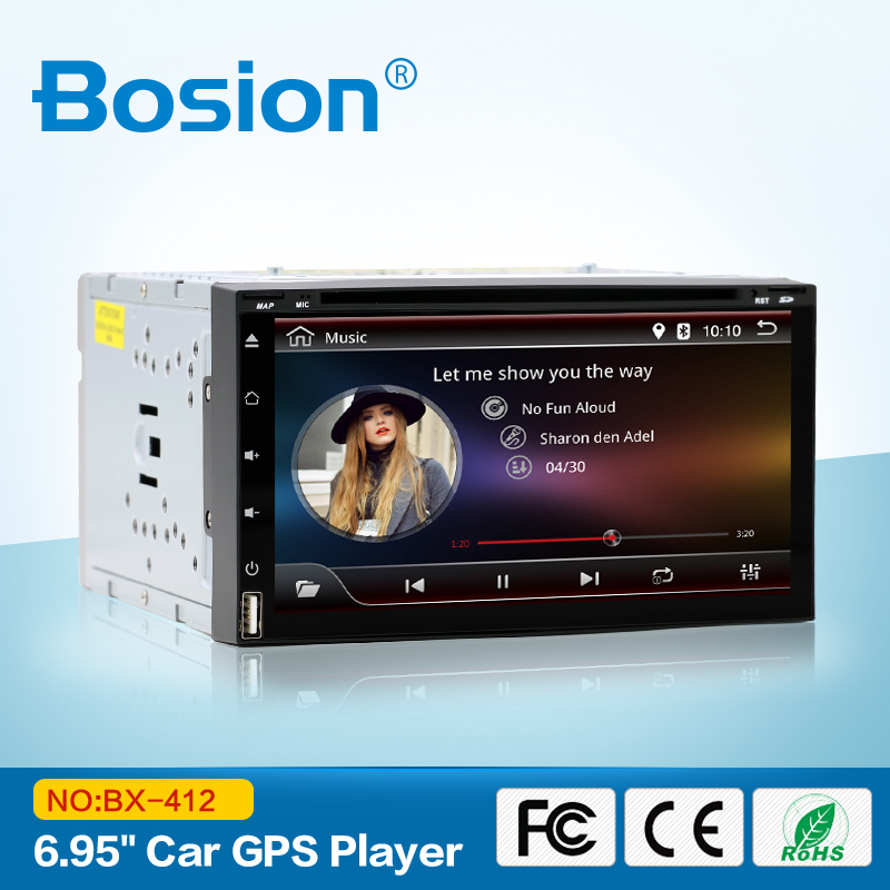 Quad Core Android 6 0 Full touch screen with Car DVD Player GPS for Toyota RAV4