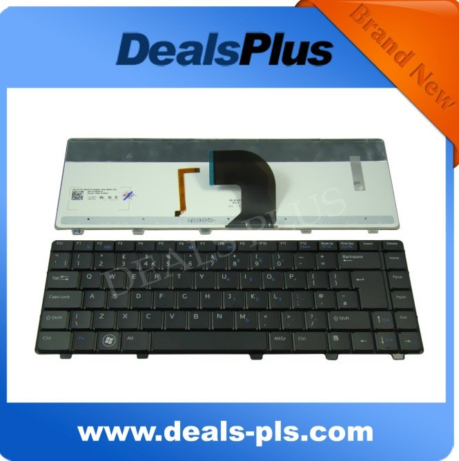 NEW Laptop Keyboard for Dell Vostro 3300 3400 3500 V3300 V3400 series UK Keyboard Backlit