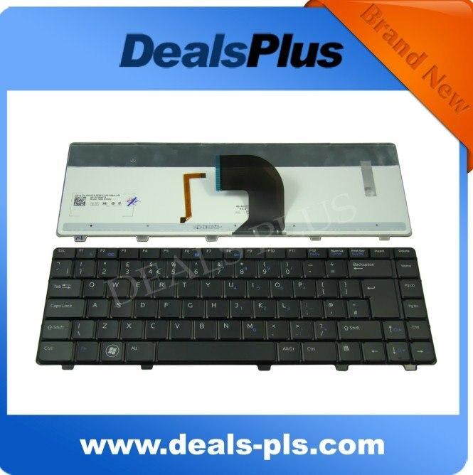 NUOVA Tastiera Del Computer Portatile per Dell vostro 3300 3400 3500 V3300 V3400 series UK Tastiera Retroilluminata