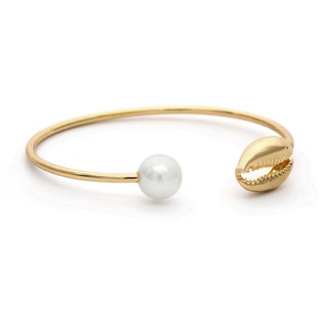 HZ Metal Conch Pearl Golden...