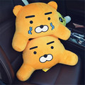 on sales South Korea KAKAO FRIENDS RYAN plush pillow APEACH  FRODO waist pillow car sofa cushion boy girl gifts free shipping
