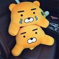 on sales South Korea KAKAO FRIENDS RYAN plush pillow APEACH  FRODO waist pillow car sofa cushion boy girl gifts free shipping