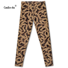 Hot sales new sexy digital printing for boot design women leggings fashion pant capris soft fitness plus size drop shipping