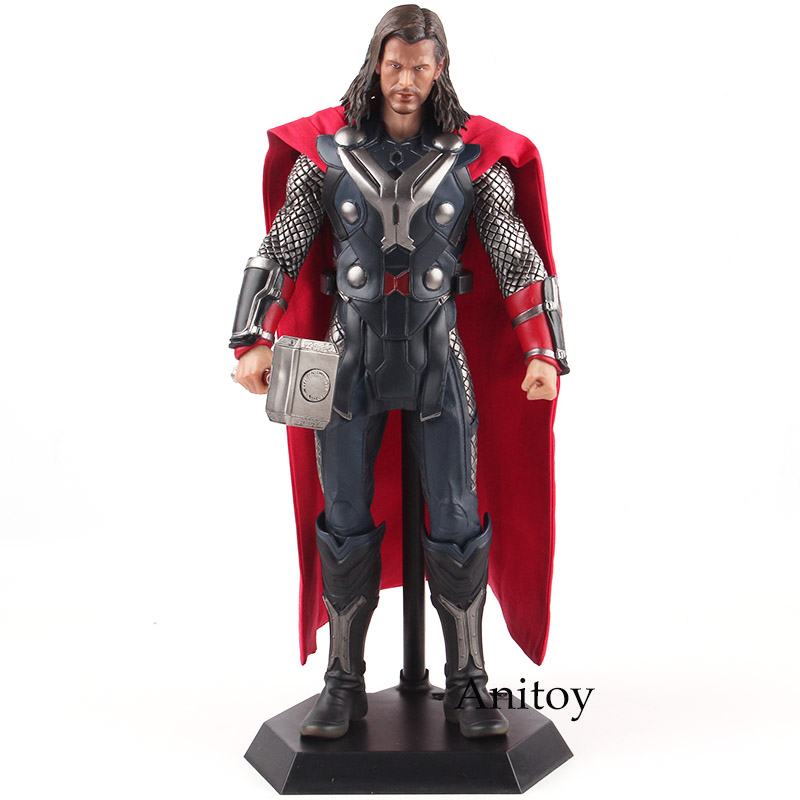 Crazy Toys Marvel Action Figures Legends Thor Figurines PVC 1/6th Scale Collectible Figure Model Toy 29.5cmCrazy Toys Marvel Action Figures Legends Thor Figurines PVC 1/6th Scale Collectible Figure Model Toy 29.5cm