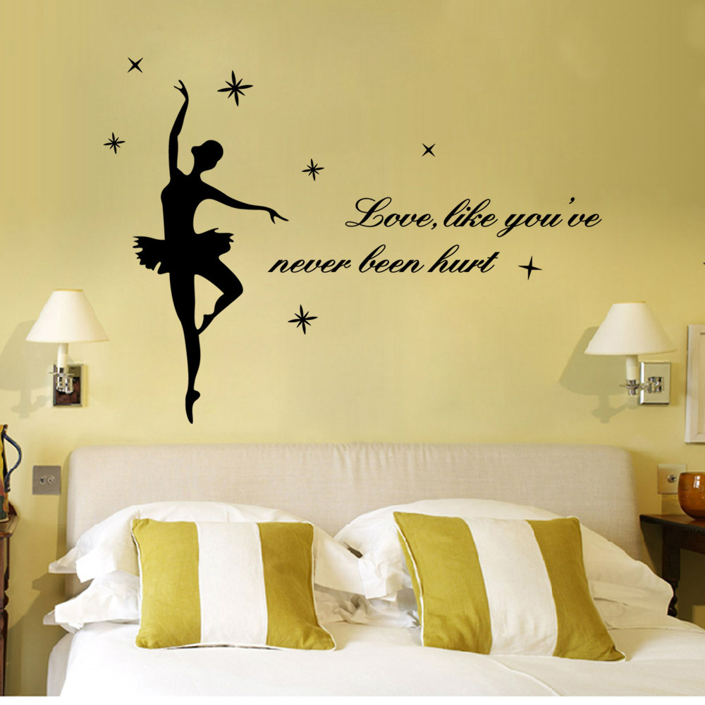 Love like you \'re never been hurt Quotes Decorative Vinyl Wall ...