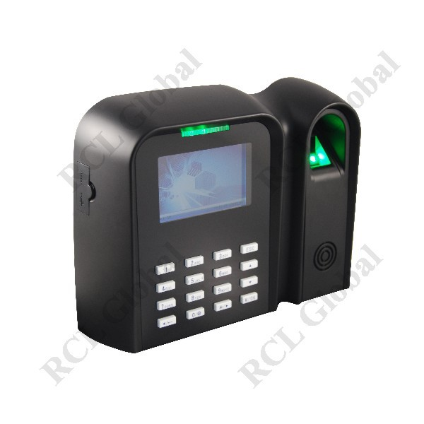 Spanish Arabic French Russian Persian Farsi English Language Selectable Fingerprint And 125khz Id Card Time Recorder