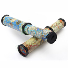 Поворотный и растяжимый Artascope размера 3D Калейдоскоп бумажная карта калейдоскоп цвет красочные мировые игрушки Интерактивная игрушка цвет в ассортименте