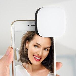 Image 5 - Nuovo Godox Mini portatile Selfie Flash LEDM32 Fotocamera 32 LED Video luce di Riempimento CRI95 con Built In Batteria Al Litio per il Mobile telefono