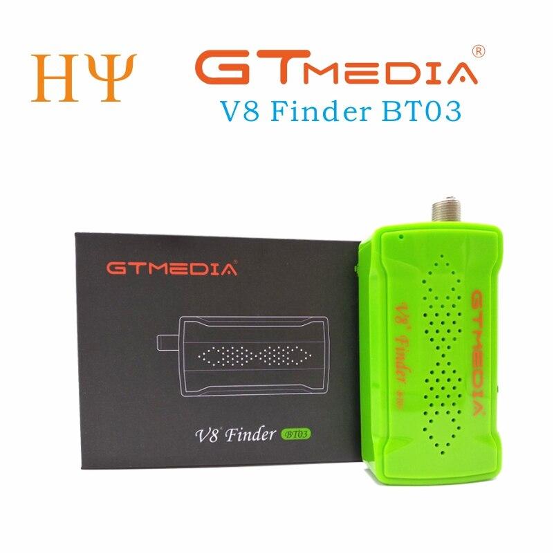 [[Genuíno] original gtmedia v8 finder bt03 DVB-S2 localizador de satélite melhor do que satlink ws-6933 ws6906 atualização freesat bt01