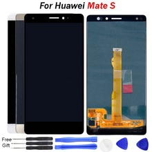 For Huawei Mate S LCD Display Touch Screen Digitizer Assembly CRR-L09 CRR-UL20 For Huawei MateS LCD Screen With Frame LCD Repair white black gold for huawei ascend mate s lcd display screen touch digiziter assembly with frame free shipping