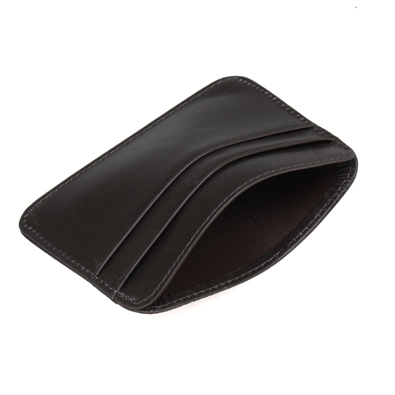 KUDIAN BEAR Brand Credit Card Holder Leather Travel Business Card ...
